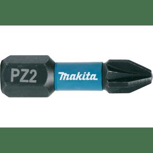 Makita B-63644 - 2 BITI IMPACT BLACK HEX 1/4 PZ 2 25MM - ForeStore