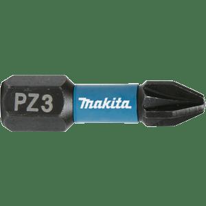 Makita B-63650 - 2 BITI IMPACT BLACK HEX 1/4 PZ 3 25MM - ForeStore