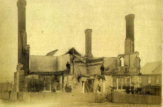 Forest Row Village Hall Burnt Down 1895