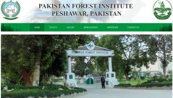 Pakistan Forest Institute Peshawar Academic Courses (Syllabus)