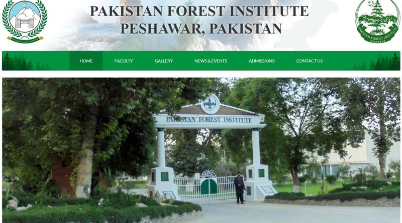 Pakistan Forest Institute Peshawar Academic Courses (Syllabus)