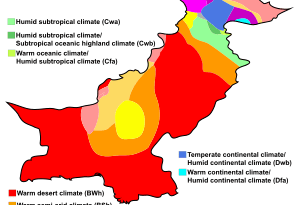 Pakistan Climate is Changing - Forestrypedia