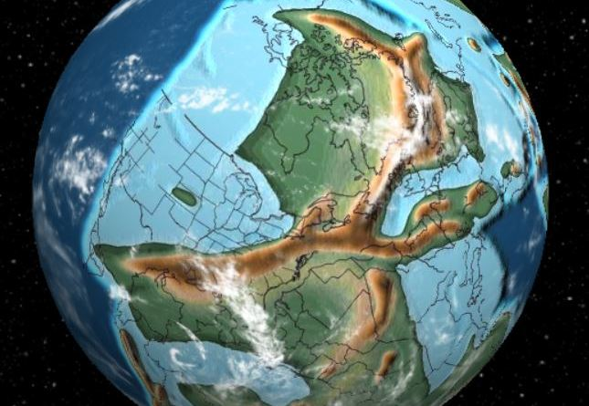 Earth Has Evolved Over 750 Million Years - 340 million years ago - Forestrypedia