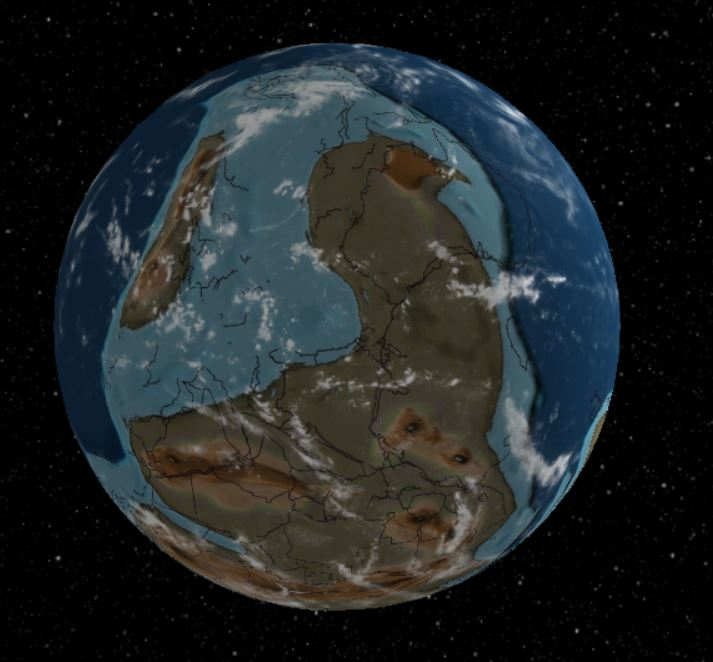 540 Million Years Ago - Forestrypedia