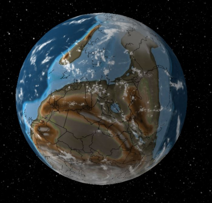 600 Million Years Ago - Forestrypedia
