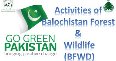 Balochistan Forest & Wildlife Department Green Pakistan Program / Billion Tree Tsunami Program Events - Forestrypedia