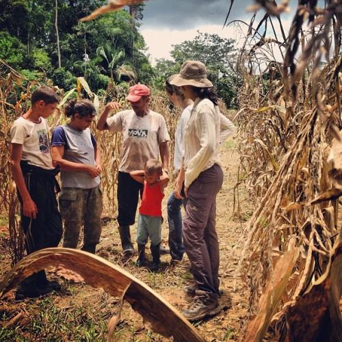 Pesquisadores do CIFOR entrevistaram 240 famílias de pequenos produtores no Acre sobre seu uso da terra e seus meios de subsistência como parte de Estudo Comparativo Global do CIFOR sobre REDD+. Kate Evans/CIFOR