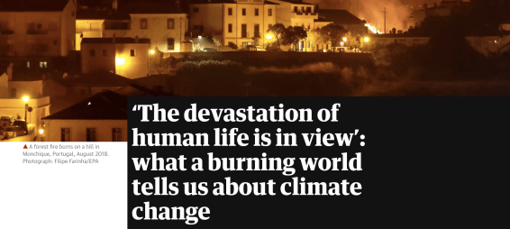 David Wallace-Wells new book, The Uninhabitable Earth, discusses the devastation of wildfires and their deadly feedback loop in accelerating climate change