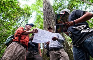 An important aspect of the study was monitoring, reporting and verification of reducing carbon emissions. Photo: Marco Simola/CIFOR