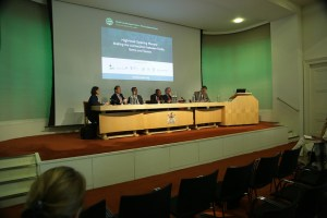 Expert discussion at Global Landscapes Forum: The Investment Case, London 6 June 2016. Photo: CIFOR
