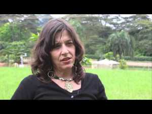 "Video: Emilie Smith Dumont, scientist World Agroforestry Centre (ICRAF), on her work around Virunga National in eastern Democratic Republic of Congo, with the CIFOR project ""Forests and Climate Change in the Congo"", funded by the European Union's Global Climate Change Alliance (GCCA)."