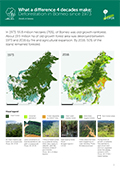 What a difference 4 decades make: Deforestation in Borneo since 1973