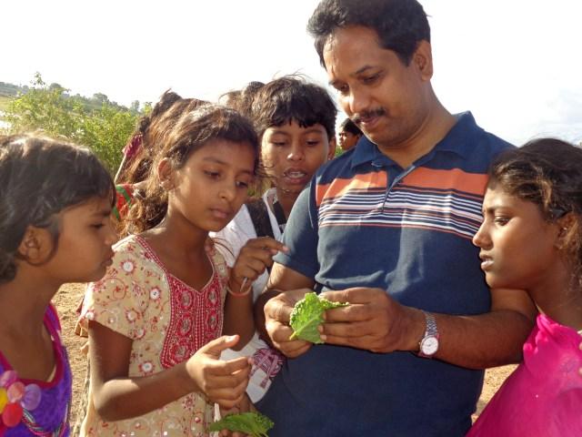 *Ravishankar with students