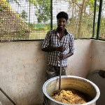 the cook who explained to us all the ingrdients of the food and herbal remedies