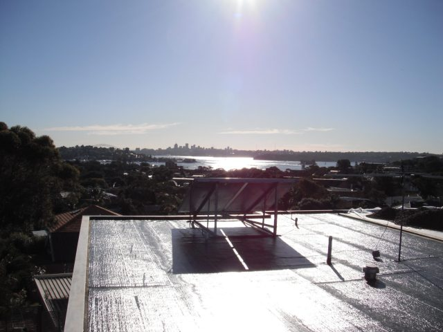 Rose Bay. SBS Torch On Membrane.
