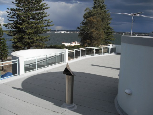 Torch On Waterproofing Roof Terrace.