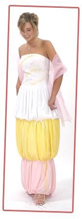 Seriously McmIllan she so ghetto potato sack dress