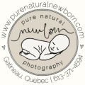 Pure-Natural-Newborn-Photography-Ottawa-Gatineau-Logo, local Ottawa businesses, Pure Natural Newborn, Newborn Photography Ottawa, Baby Photography Ottawa