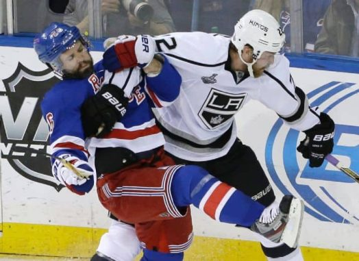 The Rangers will look to keep the Kings from skating with the Cup at the Garden (AP Photo/Frank Franklin II)
