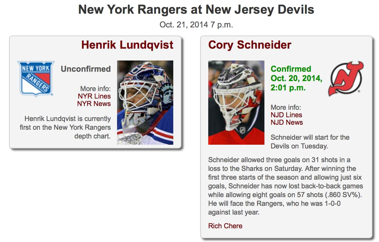 new styles cee29 88d52 Devils look to burn the Rangers at the Rock (NYR at NJD, 7PM ...