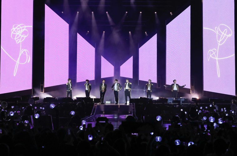 BTS Performed at CitiField