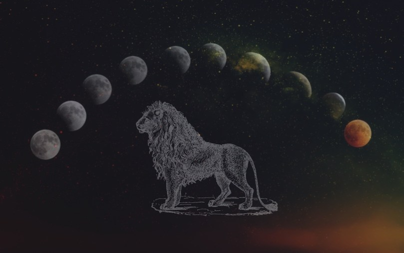 leo blood moon eclipse ritual 2019