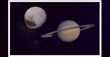 saturn and pluto