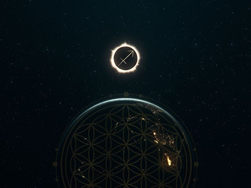 sagittarius new moon solar eclipse december 2020