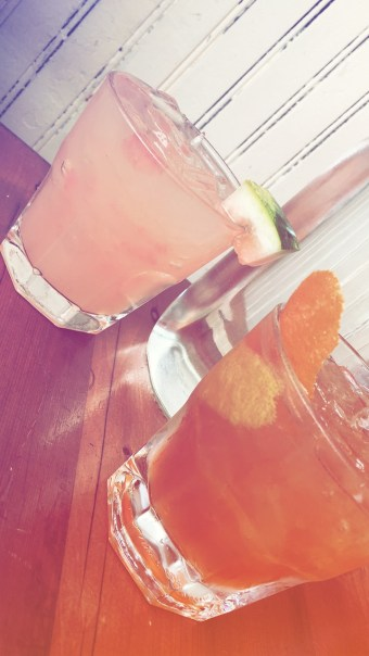Watermelon Squeeze & Old Fashioned