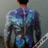 Superman Electric Suit Backside Demo