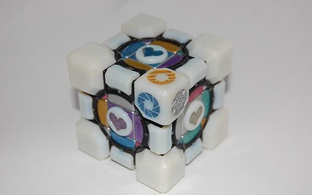 Portal 2 Rubik's Cube