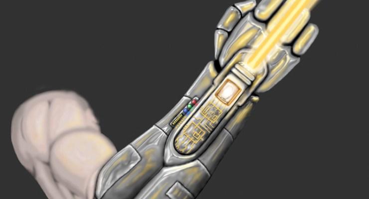 lightsaber variants gauntlet prosthetic