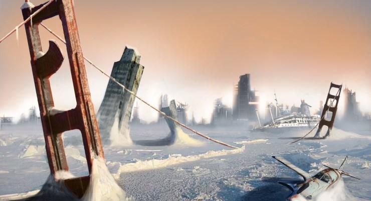 golden gate bridge post apocalyptic