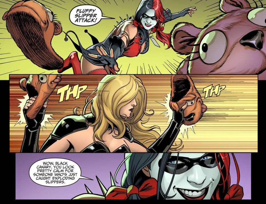 evolution of harley quinn