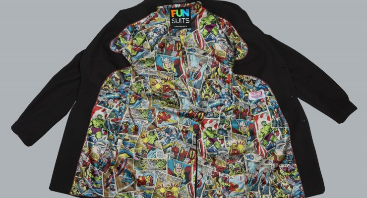 marvel jackets