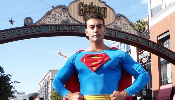 SDCC 2016 cosplay - Superman