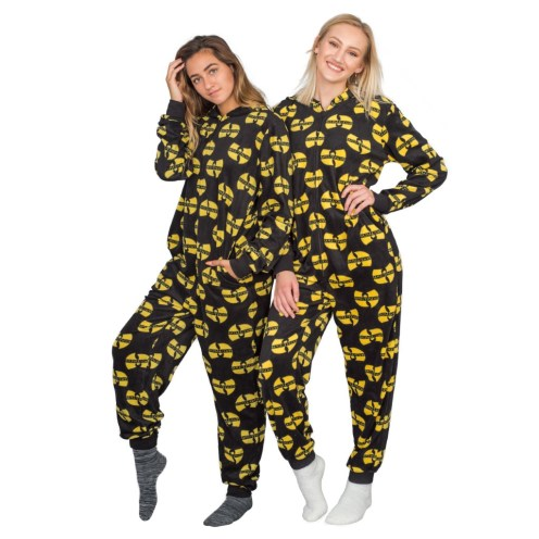 Wu Tang Clan Logo Toss Pajama Union jumpsuit
