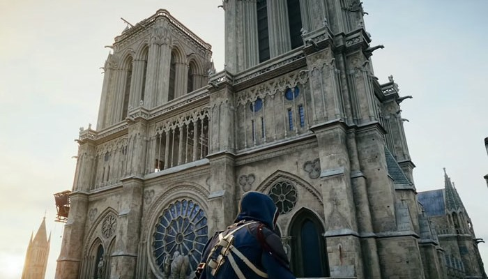 Ubisoft offers Free Assassin's Creed Unity to raise awareness of Notre-Dame fire damage and donations