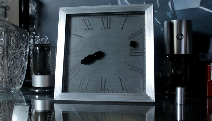 ferrofluid clock