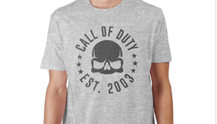 Call Of Duty Shirt