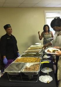 Forever Grateful, LLC catering options