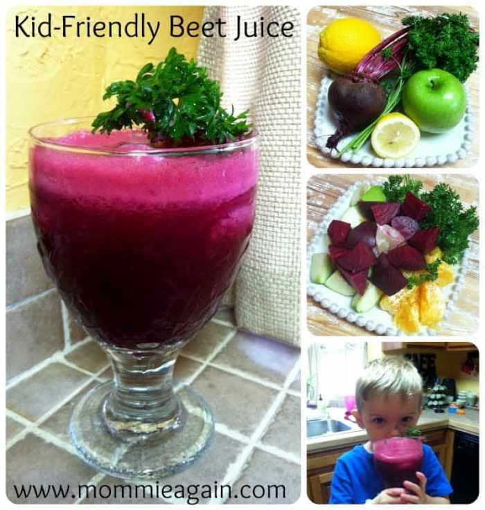 Juicing again today #5...this time it's Kid-Friendly!!