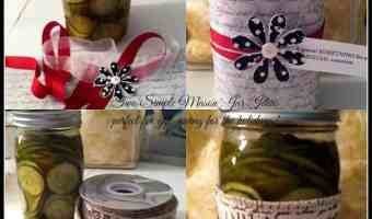 DIY Simple Canning Decor Idea for the Holidays
