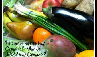Eating Mindfully – To buy or not to buy Organic Produce