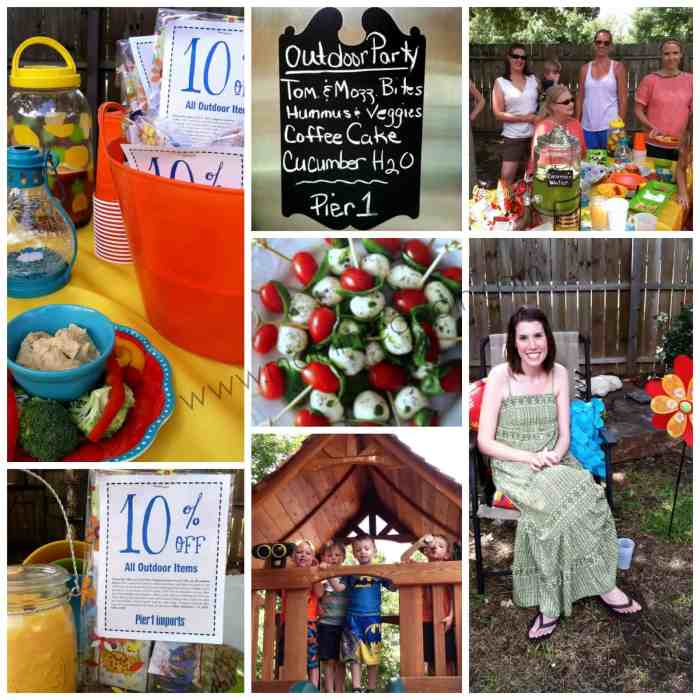 My Outdoor Oasis Party + $25 Pier 1 Imports GC Giveaway!
