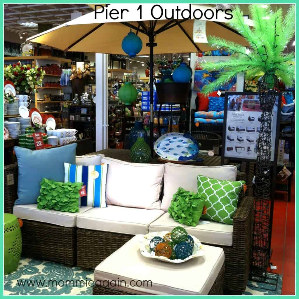 Good Luck With The Giveaway. Rules Are Below. I Do Hope You Take Some Time  To Peruse The Pier 1 Imports Website To Plan Your Own Outdoor ...