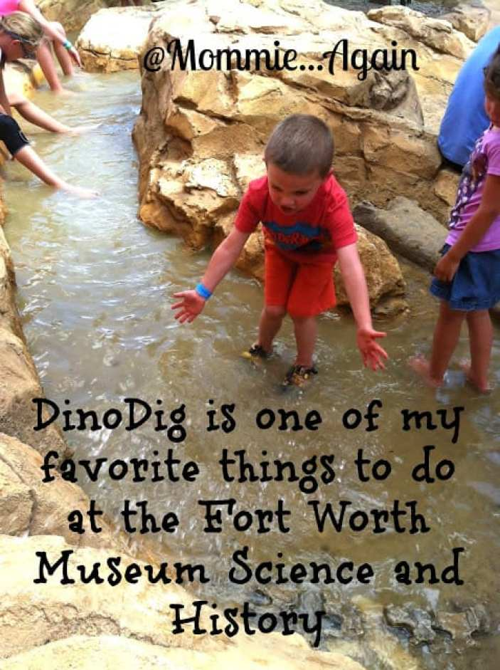 Dino Dig Adventures at Fort Worth Museum Science & History