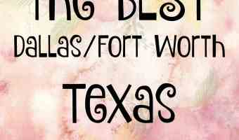 BEST of the BEST – DFW Bloggers – Check them out!!