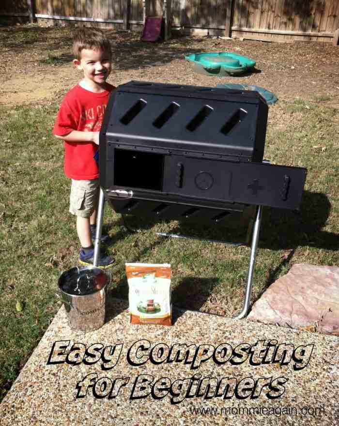 Easy Composting for Beginners + My New Garden Spot!