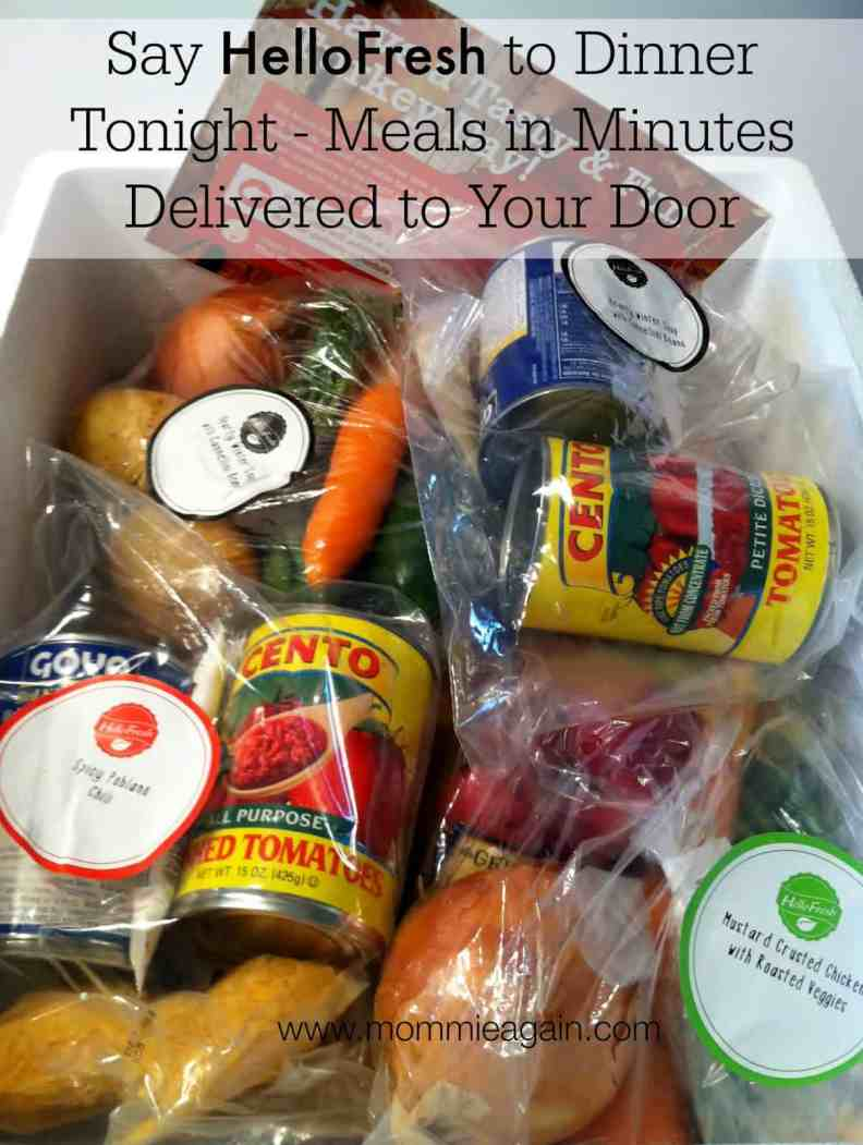 Meals in Minutes Delivered to Your Door